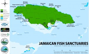Map created by S. Lee, courtesy of CARIBSAVE